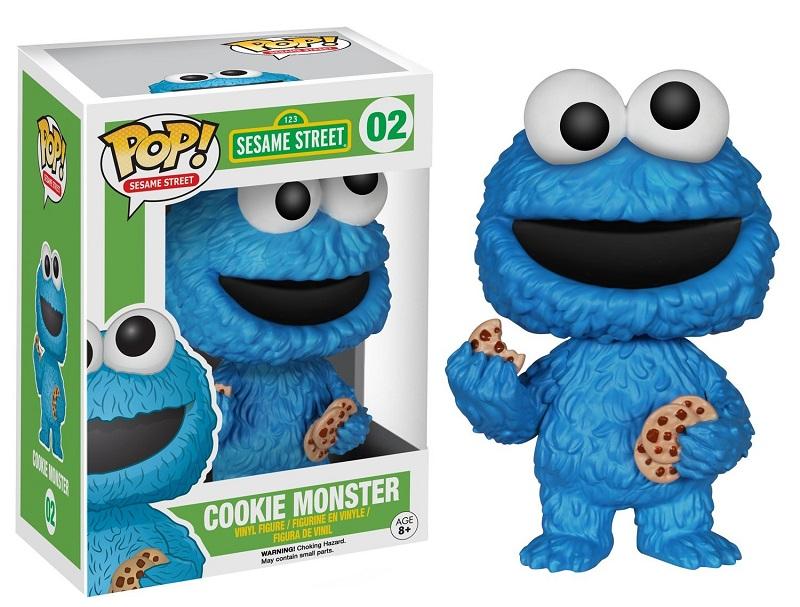 Funko POP! Sesame Street - Cookie Monster Vinyl Figure 10 cm