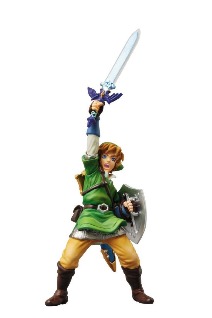 Figura Nintendo Link Skyward Sword Legend of Zelda + Base Zelda