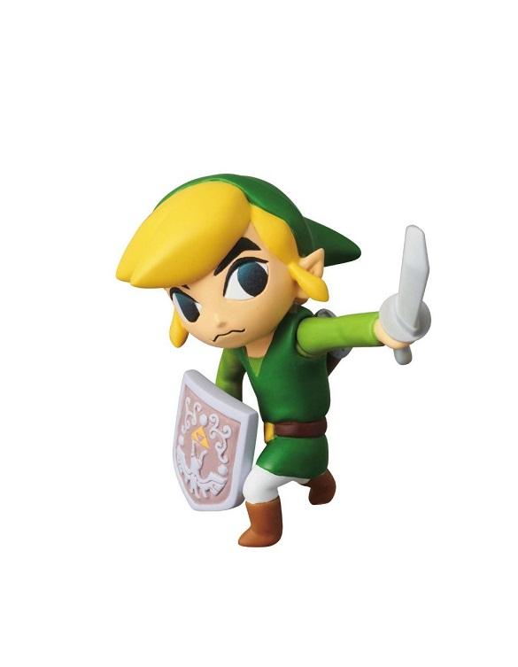 Figura Nintendo Série 1 - Link Wind Waker Legend of Zelda + Base Zelda