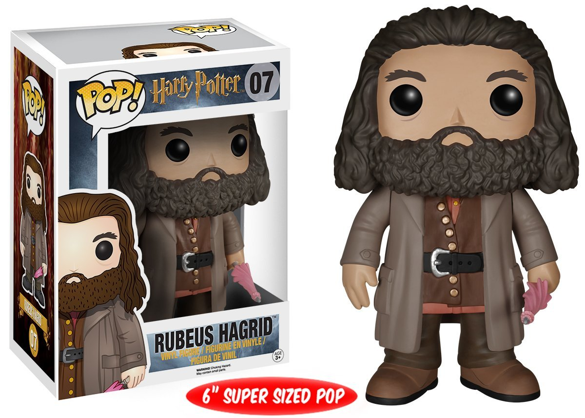 Funko POP! Movies Harry Potter - Ruebus Hagrid Oversized 15 cm