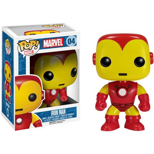 Funko POP! Vinyl Marvel - Iron Man Vinyl Figure 10 cm