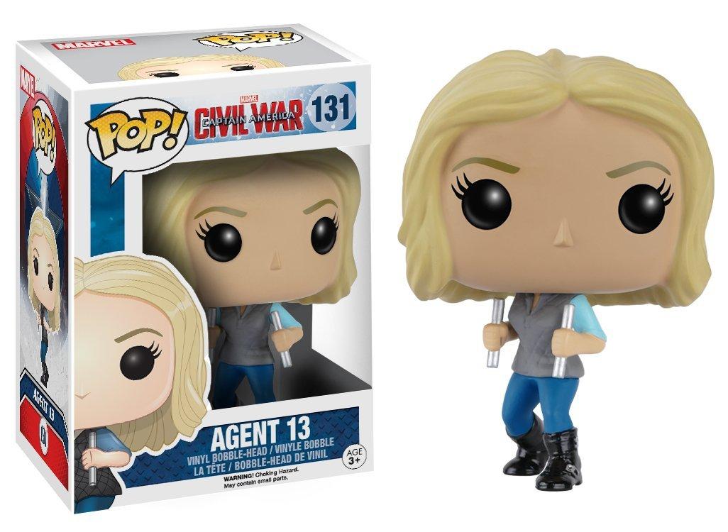Funko POP! Marvel - Captain America 3: Civil War Agent 13  10 cm