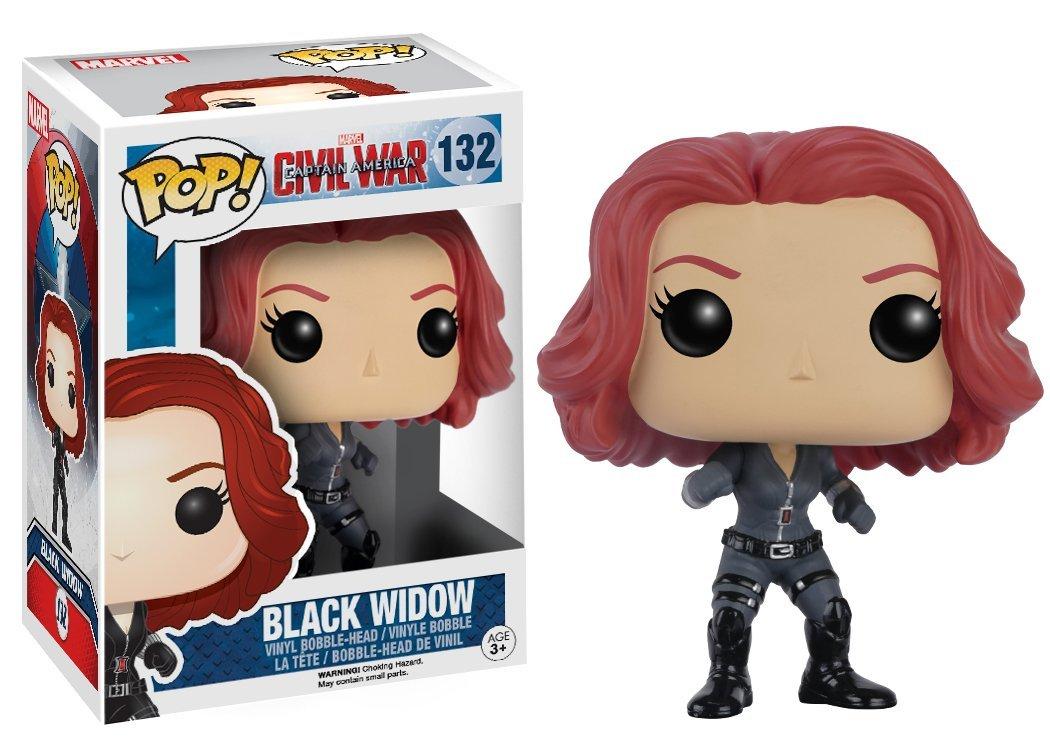 Funko POP! Marvel - Captain America 3: Civil War - Black Widow 10 cm