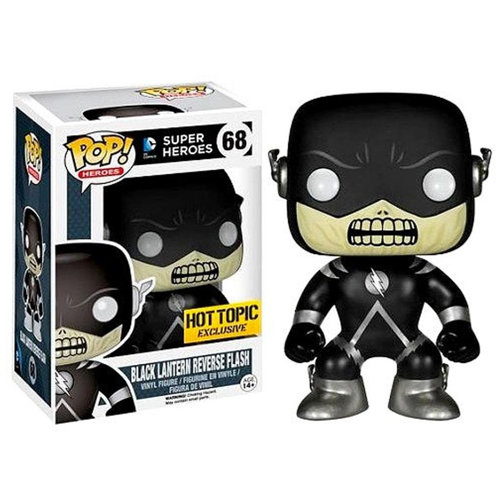 Funko POP! DC Comics - Black Lantern Reverse Flash Hot Topics Exclusive
