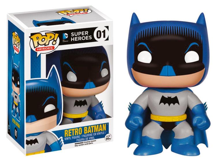 Funko POP! DC Comics - Retro Batman Vinyl Figure 10 cm