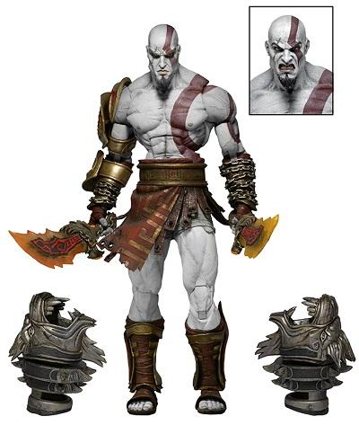 Action Figure God of War 3 - Ultimate Kratos 18 cm