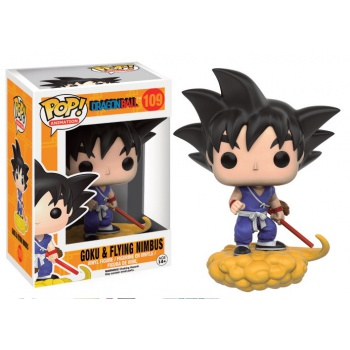 Funko POP! Animation Dragonball Z series 2 - Goku & Flying Nimbus 10 cm
