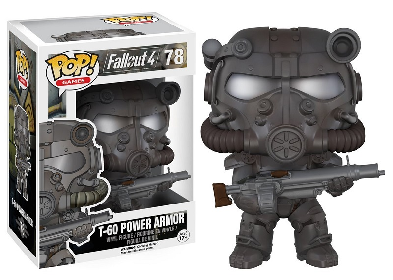 Funko POP! Games - Fallout 4 T-60 Power Armor Vinyl Figure 10 cm