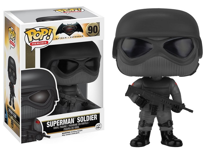 Funko POP! Heroes - Batman VS Superman: Superman Soldier 10 cm