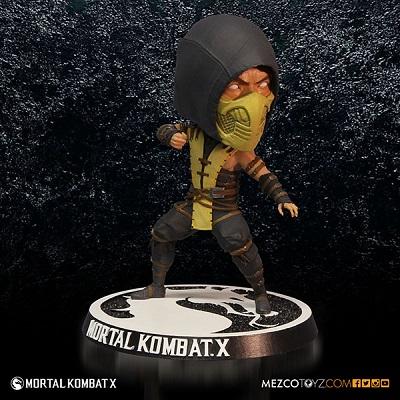 Bobble Head Mortal Kombat X Scorpion 16 cm