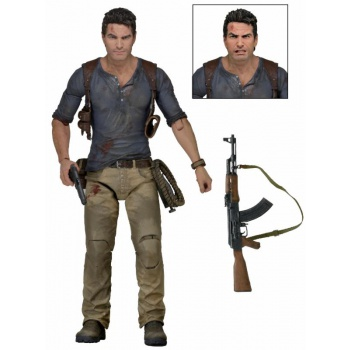 Action Figure Uncharted 4 A Thief's End - Nathan Drake Ultimate 18 cm