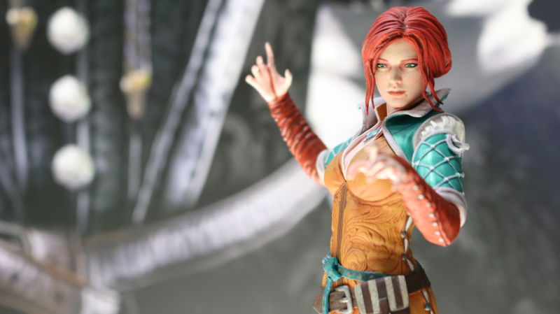 Estátua The Witcher 3: Triss 23 cm