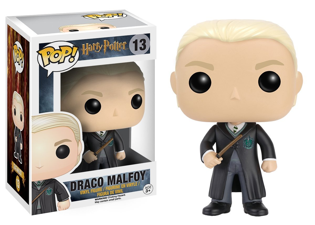 Funko POP! Movies - Harry Potter: Draco Malfoy Vinyl Figure 10 cm