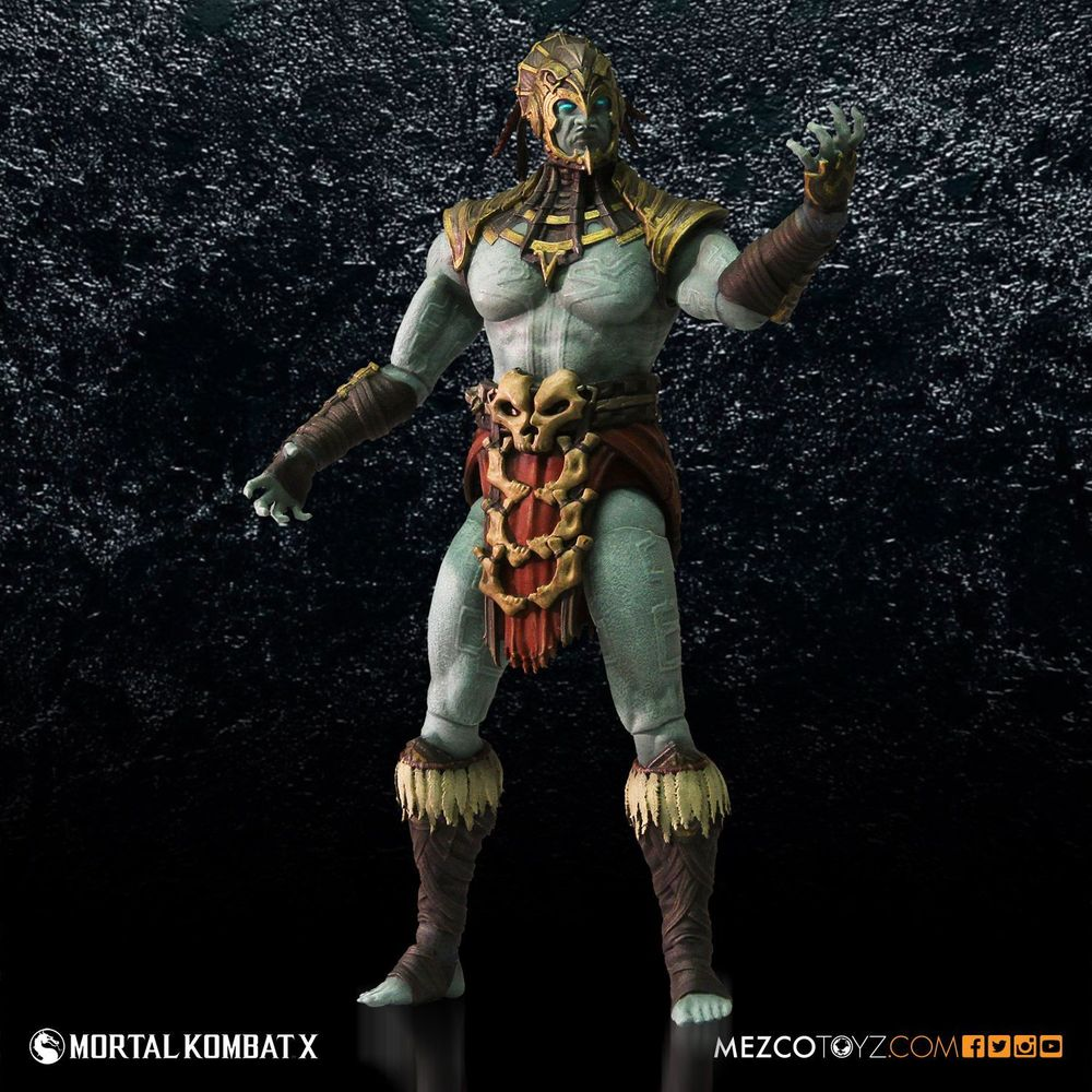 Action Figure Mortal Kombat X Kotal Kahn 17 cm