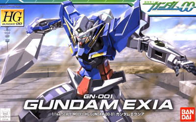HG High Grade Model Kit Gundam EXIA 1/144