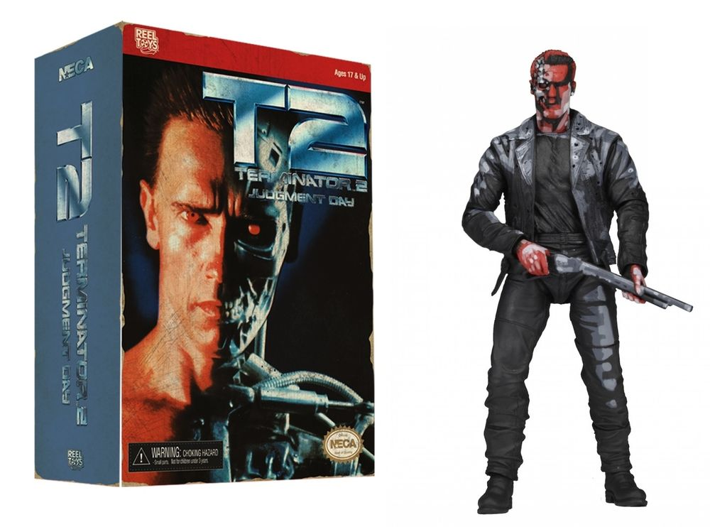 Action Figure Terminator 2: Judgment Day T-800 Video Game Appearance 18 cm