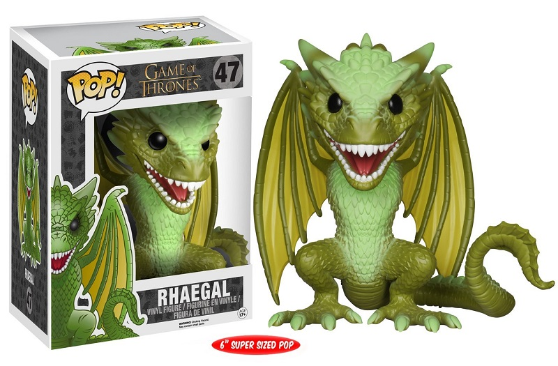 Funko POP! Game Of Thrones - Rhaegal Oversized Vinyl Figure 15 cm