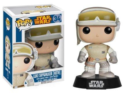 Funko POP! - Star Wars: Luke Skywalker On Hoth Bobble Head 10 cm