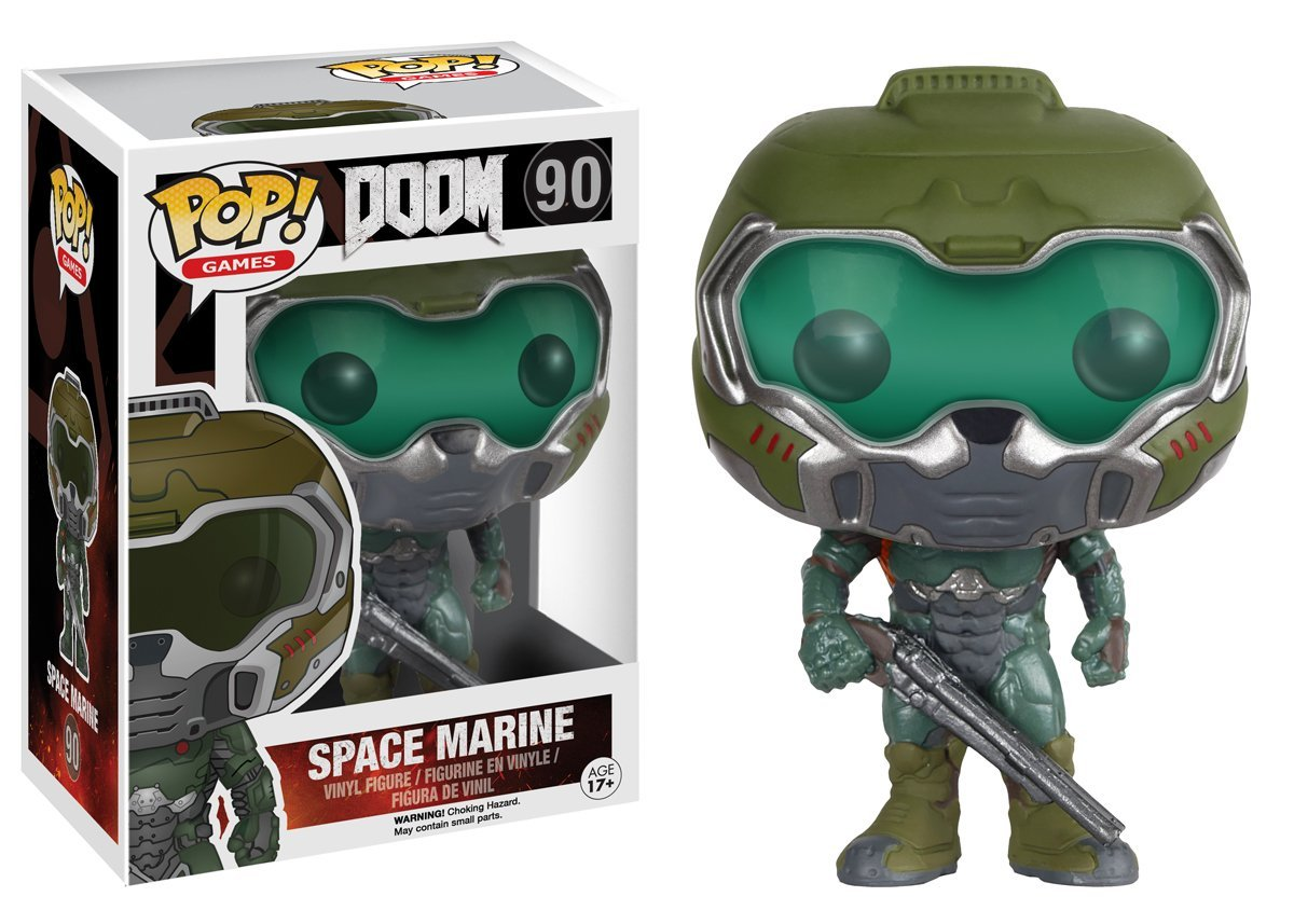 Funko POP! Games - Doom: Space Marine - Vinyl Figure 10 cm
