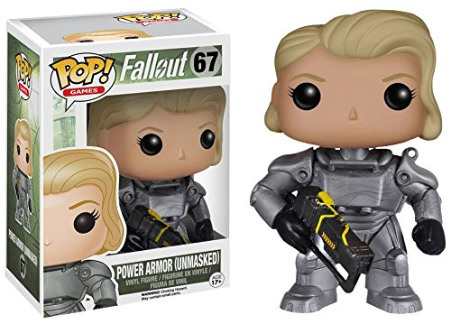 Funko POP! Games Fallout - Female Lone Wanderer Unmasked Power Armor Lim.Ed