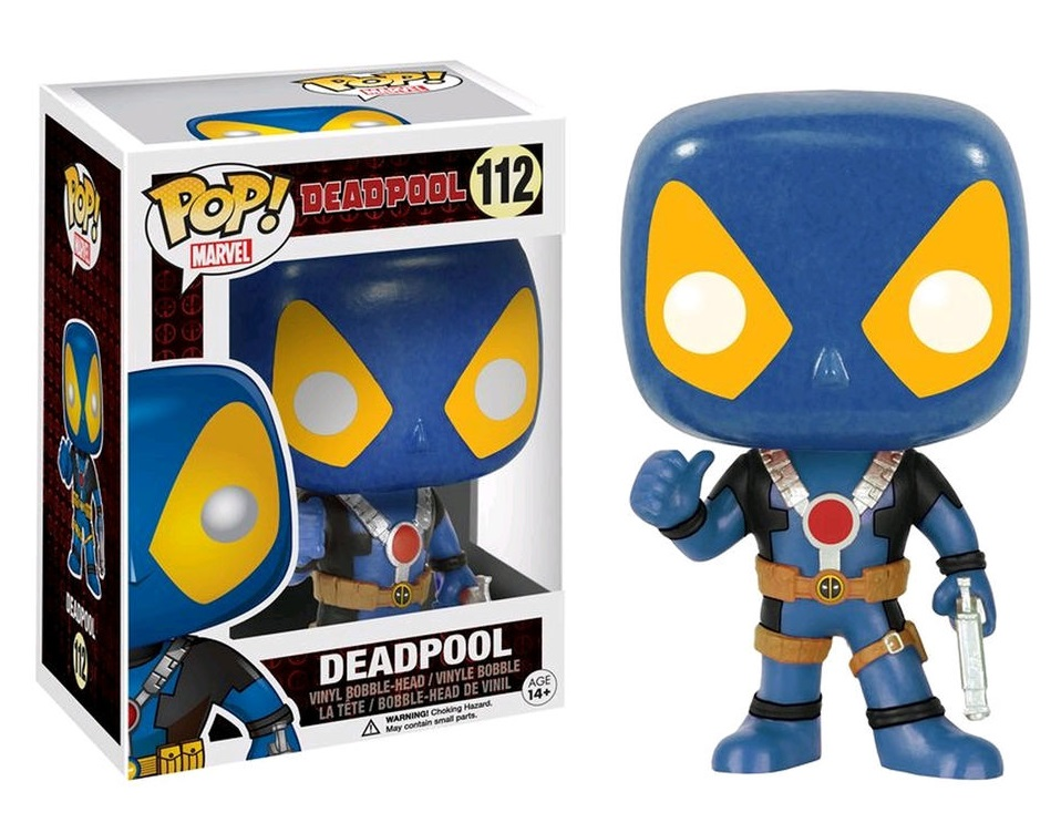Funko POP! Marvel - Deadpool Thumbs Up X-Men Costume - Vinyl Figure 10 cm