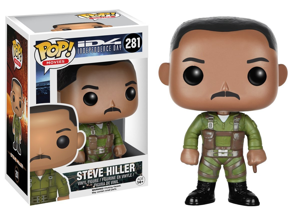 Funko POP! Movies - Independence Day: Steve Hiller - Vinyl Figure 10 cm