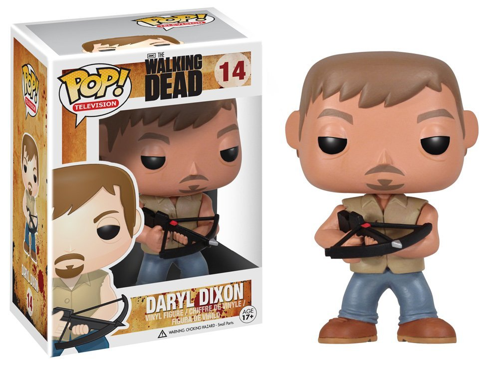 Funko POP! - The Walking Dead - Daryl Dixon Vinyl Figure 10 cm
