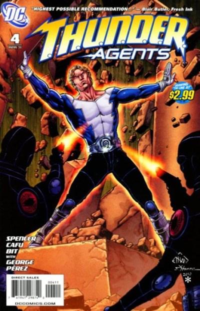 DC Comics - T.H.U.N.D.E.R. Agents #4 (oferta capa protetora)