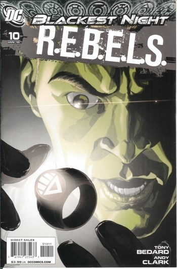 DC Comics - Blackest Night R.E.B.E.L.S. #10 (oferta capa protetora)