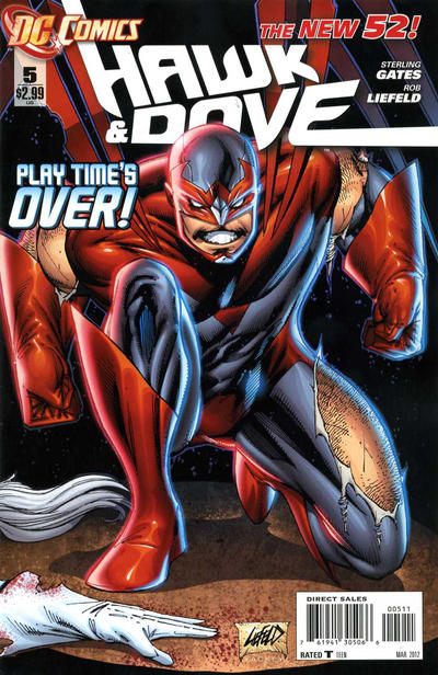 DC Comics - The New 52! Hawk & Dove #5 (oferta capa protetora)