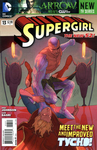 DC Comics -  The New 52! Supergirl #13 (oferta capa protetora)