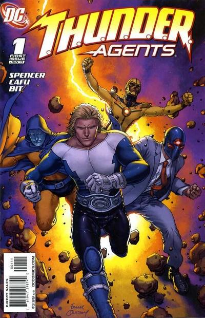 DC Comics - T.H.U.N.D.E.R. Agents #1 (oferta capa protetora)