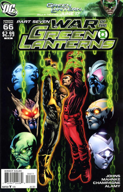 DC Comics - Part Seven War of the Green Lanterns (oferta capa protetora)