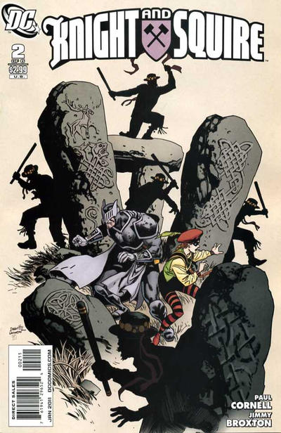 DC Comics -  Knight and Squire #2  (oferta capa protetora)