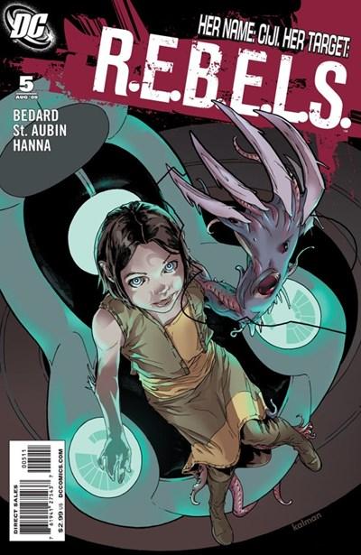 DC Comics - R.E.B.E.L.S. #5 (oferta capa protetora)
