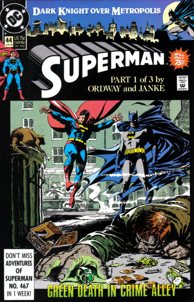 DC Comics -  Superman: Dark Knight Over Metropolis, Part 1 of 3 #44