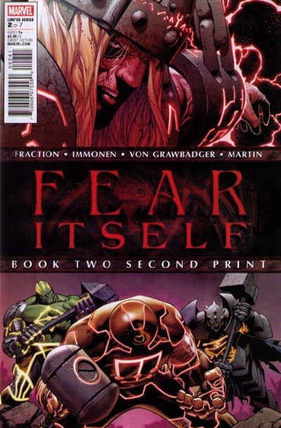 Marvel Comics - Fear Itself #2C (oferta capa protetora)