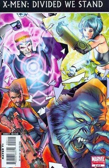 Marvel Comics - X-Men: Divided We Stand #2 (oferta capa protetora)