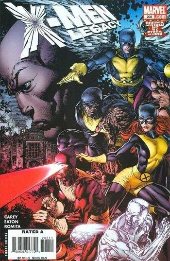 Marvel Comics - X-Men: Legacy #208 (oferta capa protetora)