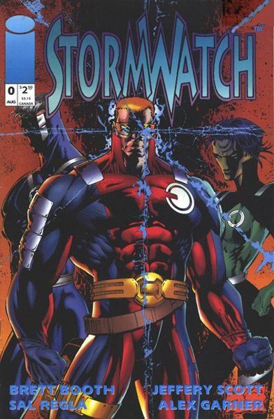 Image Comics - Stormwatch #0 (oferta capa protetora)