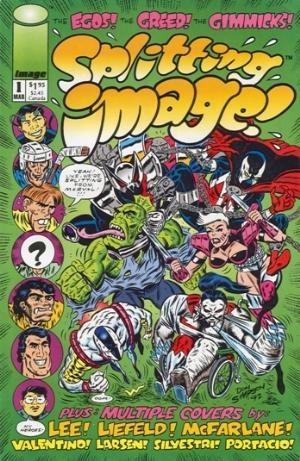 Image Comics - Splitting Image #1 (oferta capa protetora)