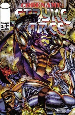 Image Comics - Codename: Stryke Force #2 (oferta capa protetora)