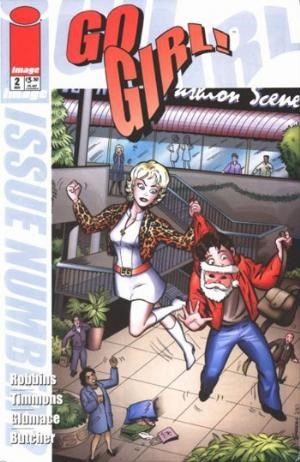Marvel Comics - Go Girl! #2 (oferta capa protetora)