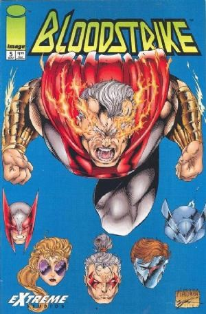 Image Comics - Bloodstrike #5 (oferta capa protetora)