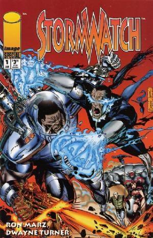 Image Comics - Stormwatch: Special #1 (oferta capa protetora)