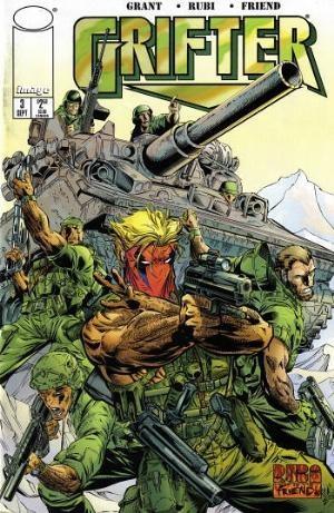 Image Comics - Grifter #3 (oferta capa protetora)