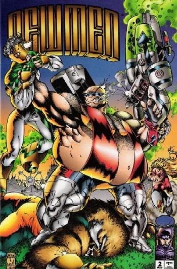 Image Comics - Newmen #2 (oferta capa protetora)