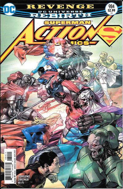 DC Comics - ACTION COMICS # 984 DC Universe Rebirth (oferta capa protetora)