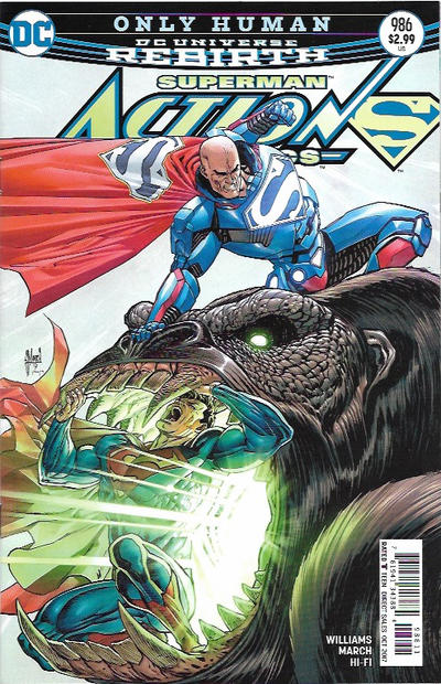 DC COMICS - Superman #986 DC Universe Rebirth (oferta capa protetora)