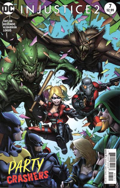 DC Comics - Injustice 2 #7 (oferta capa protetora)